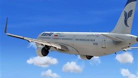اولین هواپیما در راه ایران