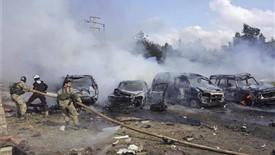 حمله ی تروریستی حلب تا کنون جان عده ی زیادی را گرفته است