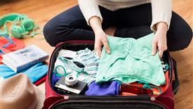 چگونه در بستن چمدان سفر اشتباه نکنیم