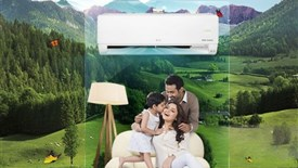 کولرهای گازی Dual Inverter الجی؛ محافظ طبیعت