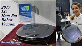 امنیت و سلامت با جاروی روباتیک +HOM-BOT Turbo الجی