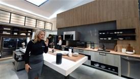رونمایی از آشپزخانه هوشمند ال جی در نمایشگاه CES 2018