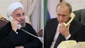 رایزنی روحانی و پوتین درباره بحران سوریه